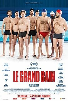 "Movie poster for ""Le Grand Bain"""