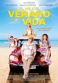 """Movie poster for """"EL MEJOR VERANO DE MI VIDA"""""""