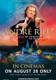 """Movie poster for """"ANDRÉ RIEU'S 2018 MAASTRICHT CONCERT: AMORE"""""""