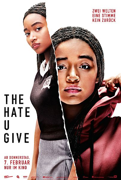 "Movie poster for ""THE HATE U GIVE"""