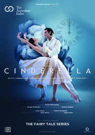"Movie poster for ""CINDERELLA: FROM THE AUSTRALIAN BALLET. THE FAIRY TALE SERIES"""