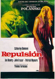 "Movie poster for ""REPULSION"""