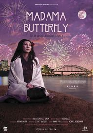 "Movie poster for ""MADAMA BUTTERFLY: HANDA OPERA ON SYDNEY HARBOUR"""