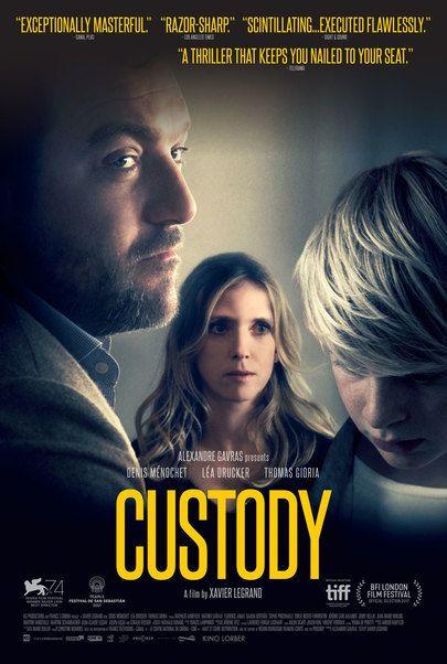 "Movie poster for ""CUSTODY"""