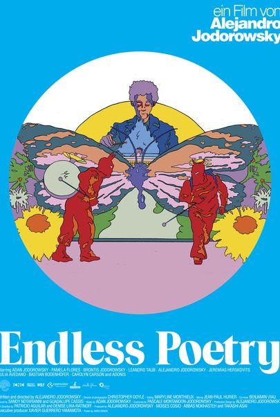 "Filmplakat für ""Endless Poetry"""