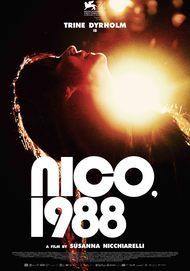 """Movie poster for """"NICO 1988"""""""