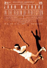 "Movie poster for ""JOHN MCENROE: IN THE REALM OF PERFECTION"""