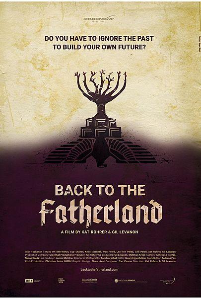 "Filmplakat für ""Back to the Fatherland"""