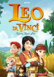 "Movie poster for ""LEO DA VINCI: MISSION MONA LISA"""