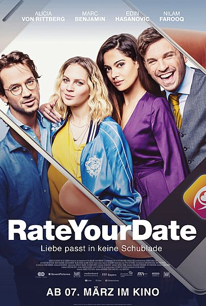 "Filmplakat für ""Rate Your Date"""