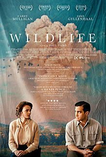 "Movie poster for ""WILDLIFE"""