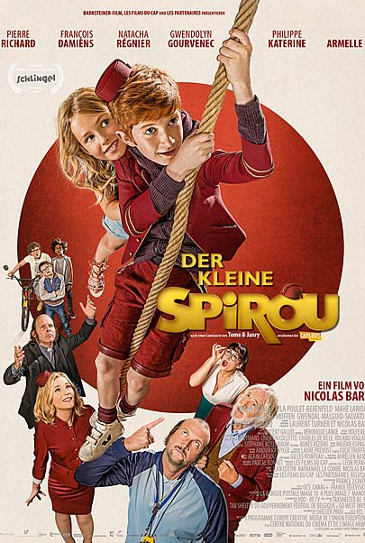 "Movie poster for ""Le Petit Spirou"""