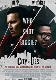 "Filmplakat für ""City of Lies"""