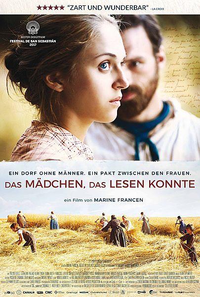 """Filmplakat für """"Das Mädchen, das lesen konnte"""""""