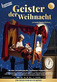"""Filmplakat für """"Geister der Weihnacht – Augsburger Puppenkiste"""""""
