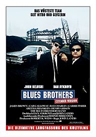 "Filmplakat für ""BLUES BROTHERS - EXTENDED VERSION"""