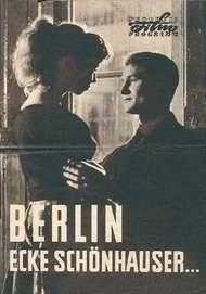"""Filmplakat für """"Berlin - Ecke Schönhauser"""""""