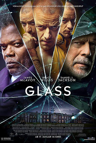 """Filmplakat für """"Glass"""""""