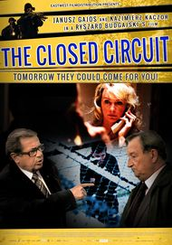 "Movie poster for ""THE CLOSED CIRCUIT"""