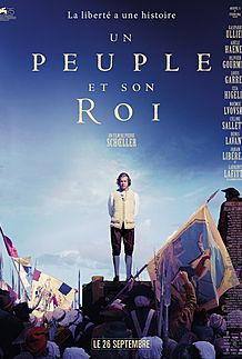 "Movie poster for ""UN PEUPLE ET SON ROI"""
