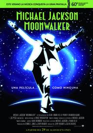 """Movie poster for """"MOONWALKER"""""""