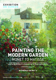 "Movie poster for ""PAINTING THE MODERN GARDEN: MONET TO MATISSE"""