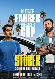 "Filmplakat für ""STUBER - 5 STERNE UNDERCOVER"""