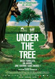 """Movie poster for """"UNDER THE TREE"""""""