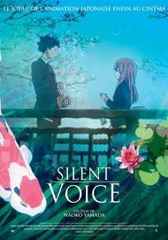 "Movie poster for ""A SILENT VOICE"""