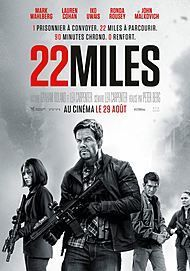 "Movie poster for ""MILE 22"""