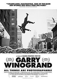 "Movie poster for ""GARRY WINOGRAND: ALL THINGS ARE PHOTOGRAPHABLE"""