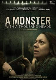 "Movie poster for ""A MONSTER WITH A THOUSAND HEADS"""