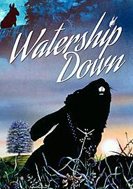 "Movie poster for ""WATERSHIP DOWN"""