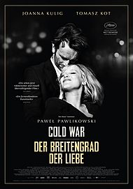 """Movie poster for """"COLD WAR"""""""