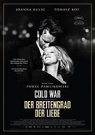 """Filmplakat für """"Cold War - Der Breitengrad der Liebe"""""""