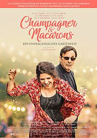"""Filmplakat für """"Champagner & Macarons - Ein unvergessliches Gartenfest"""""""