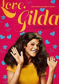 "Movie poster for ""LOVE, GILDA"""