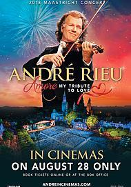 "Movie poster for ""ANDRE RIEU - 2018 MAASTRICHT CONCERT: AMORE"""