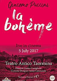"Movie poster for ""LA BOHEME TAORMINA"""