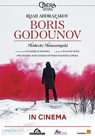 "Movie poster for ""BORIS GODOUNOV ONP"""