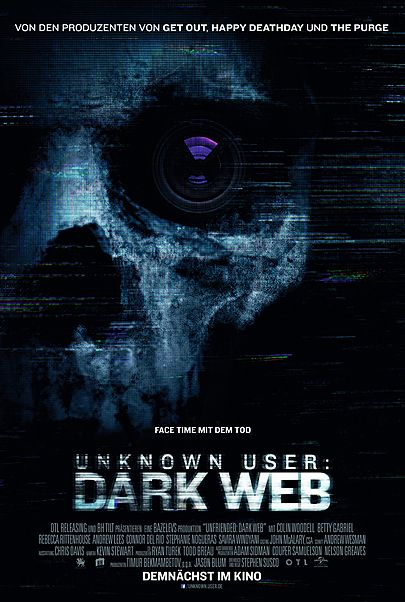"Filmplakat für ""Unknown User: Dark Web"""