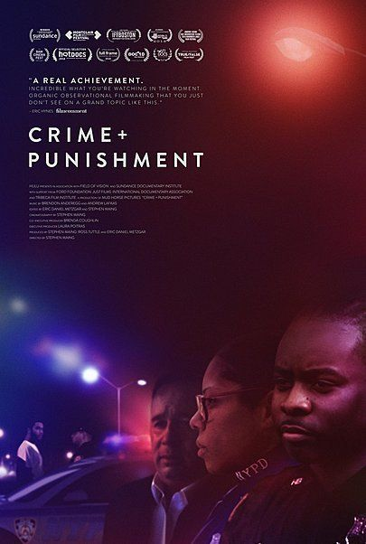 """Movie poster for """"CRIME AND PUNISHMENT"""""""