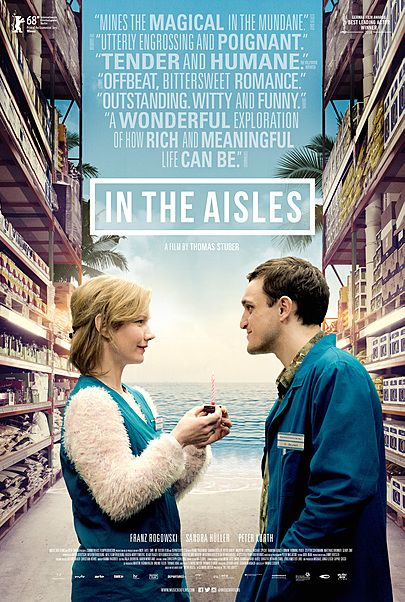 "Movie poster for ""IN THE AISLES"""