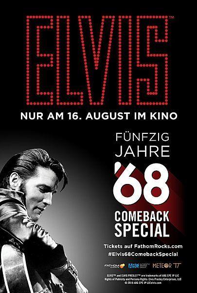 """Filmplakat für """"ELVIS: 50 Jahre ´68 Comeback Special"""""""