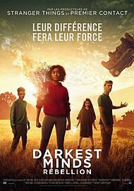 "Movie poster for ""THE DARKEST MINDS"""