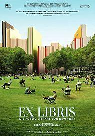 """Filmplakat für """"Ex Libris: Die Public Library von New York"""""""