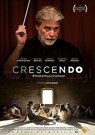 "Filmplakat für ""CRESCENDO #MAKEMUSICNOTWAR"""