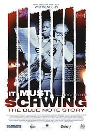 "Filmplakat für ""It Must Schwing! The Blue Note Story"""