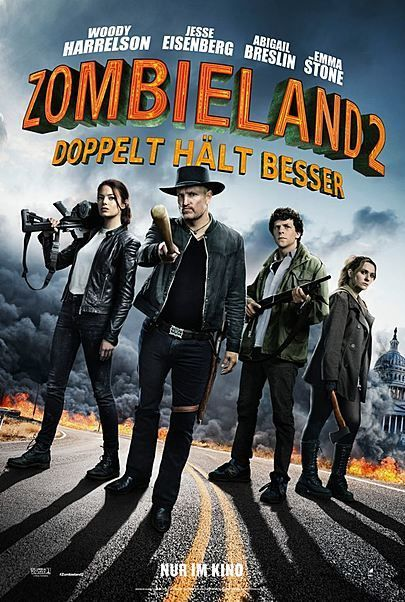 """Filmplakat für """"ZOMBIELAND 2: DOPPELT HÄLT BESSER"""""""