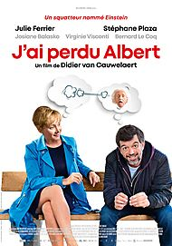 "Movie poster for ""J'AI PERDU ALBERT"""